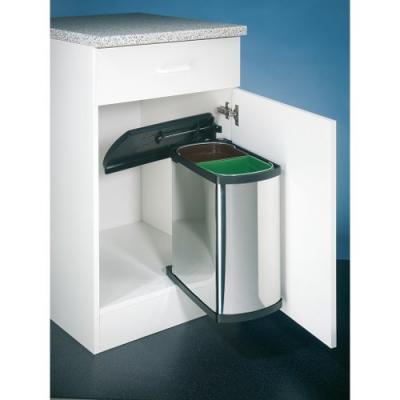 naber selectakit duo 3416 abfallsammler f r schwenktechnik edelstahl 8011270 online shop. Black Bedroom Furniture Sets. Home Design Ideas
