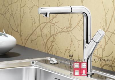 blanco yovis s k chenarmatur 518291 chrom hochdruck online shop armaturen chrom mit brause. Black Bedroom Furniture Sets. Home Design Ideas