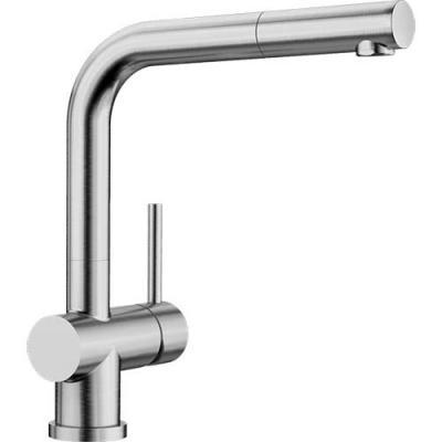 BLANCO LOMIS-S Küchenarmatur 518716 Edelstahl gebürstet Hochdruck ...