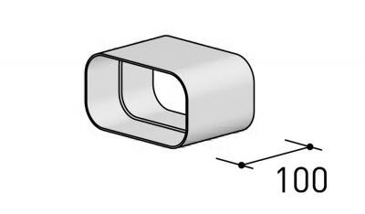 BERBEL Flachkanalverbinder 150x80