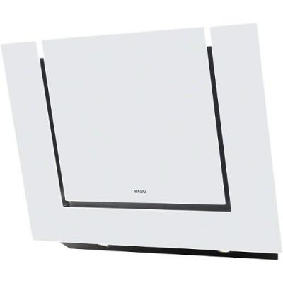 AEG X 68163 WV10 Kopffrei-Dunstabzugshaube Glas weiß 80cm, EEK C