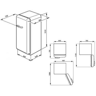 smeg fab28rbl1 standk hlschrank mit gefrierfach dunkelblau rechtsanschlag eek a online shop. Black Bedroom Furniture Sets. Home Design Ideas