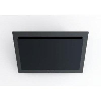novy dunstabzugshaube vision 7838 kopffrei wandhaube f r umluft glas schwarz edelstahl interner. Black Bedroom Furniture Sets. Home Design Ideas