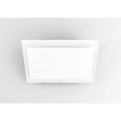 novy dunstabzugshaube vision 7839 kopffrei wandhaube f r umluft glas wei edelstahl interner. Black Bedroom Furniture Sets. Home Design Ideas