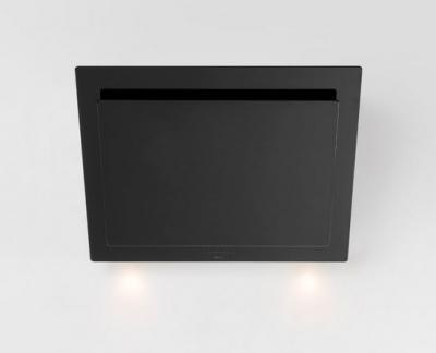 Novy vision kopffrei wandhaube für umluft glas schwarz