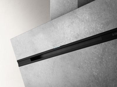 Elica kopffrei dunstabzug stripe urban zinc a zink prf