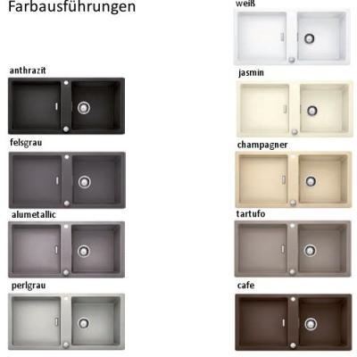 blanco lexa 6 s silgranit einbausp le becken reversibel online shop sp len silgranit 60. Black Bedroom Furniture Sets. Home Design Ideas